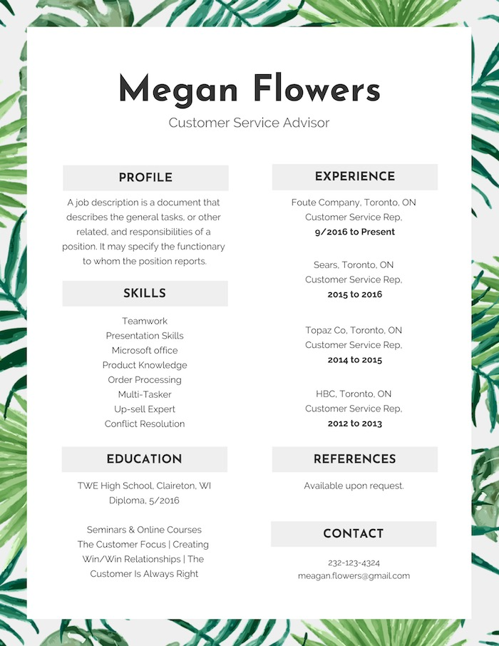 15+ Resume Design Tips, Templates  Examples - Venngage