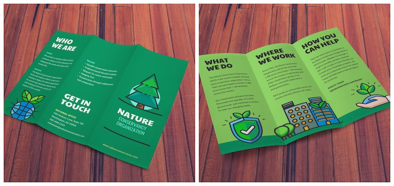 20+ Professional Trifold Brochure Templates, Tips  Examples - Venngage
