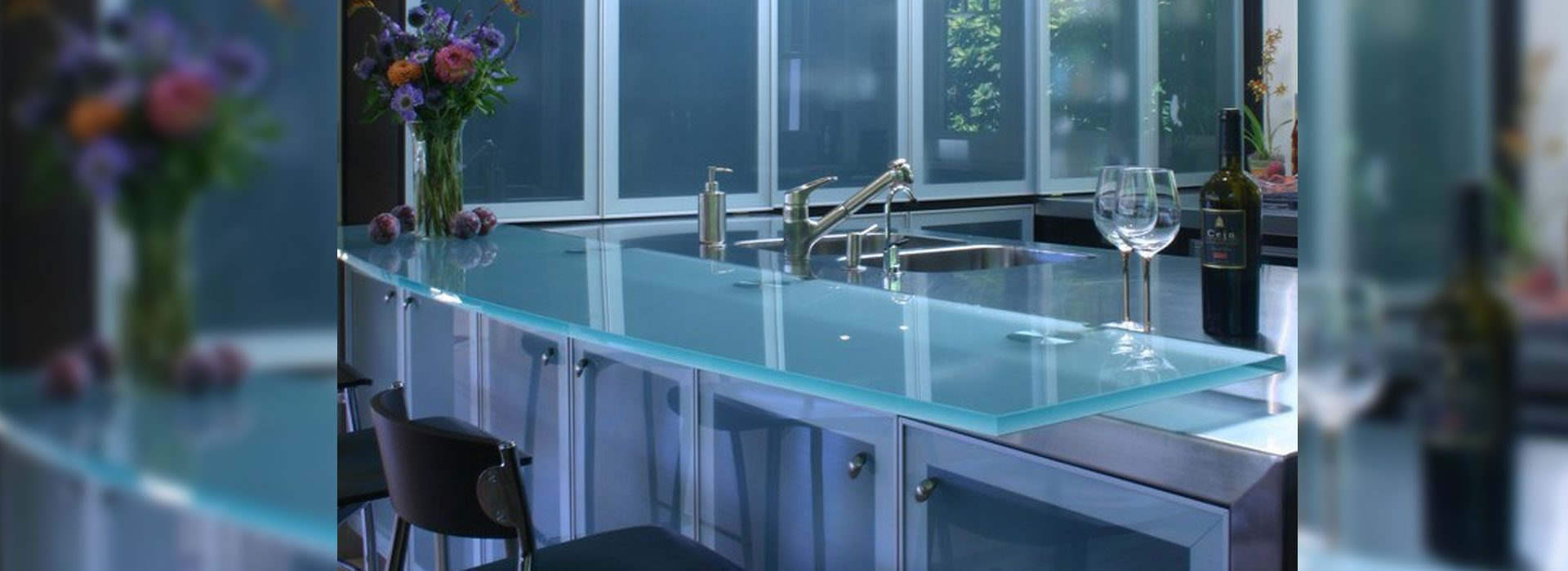 Think Glass Countertops Glass Tables Countertops Residential Glass Anchor Ventana Glass