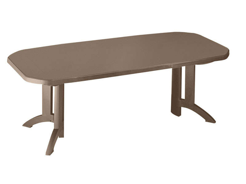 Camif Salon De Jardin Table + Allonges Vega, Table De Jardin Conforama - Ventes