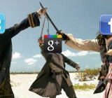 Google Plus Facebook Twitter Battle