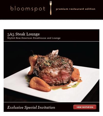Bloomspot private invitation