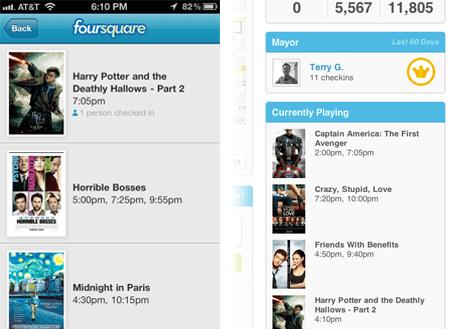 Foursquare App screenshot