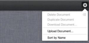 iWork, iCloud app