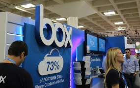Cloud storage provider Box.net was a presenter at Dreamforce this year.