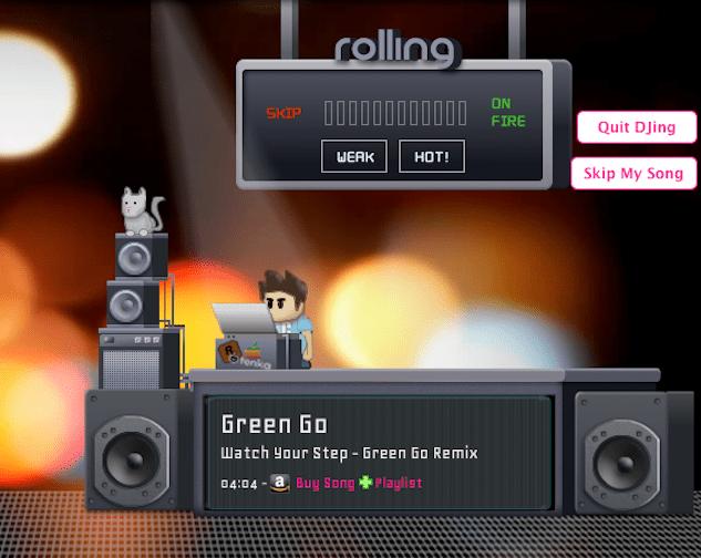 Rolling.fm DJ Stage