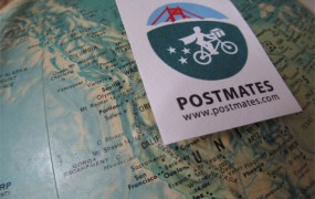 "Postmates' customers pay through the app to purchase items and have them delivered. Just like Lyft, Postmates takes a cut, in this case between 20 and 40 percent. ""We started Postmates because we realized that there is no FedEx- or UPS-like infrastructure in place for local or same-day deliveries,"" CEO Bastian Lehmann said.."