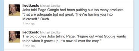 Liedtke Tweets