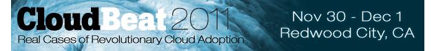 CloudBeat 2011
