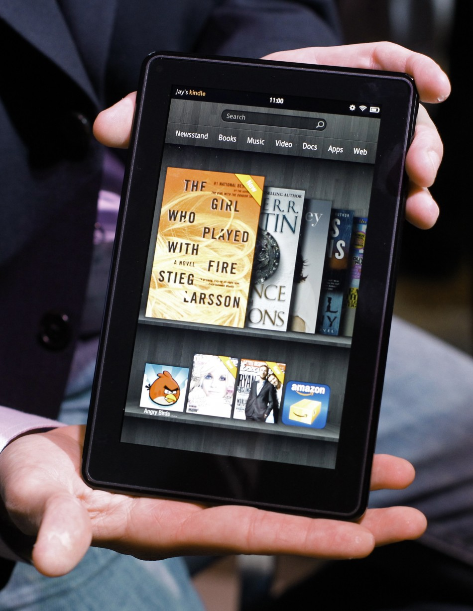 Amazon Kindle Amazon Sells The Kindle Fire At A Loss Because It Makes So Much