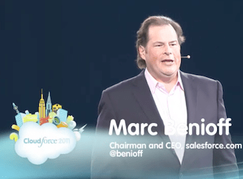 salesforce, Marc Benioff