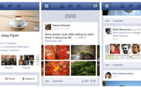 FB-timeline mobile