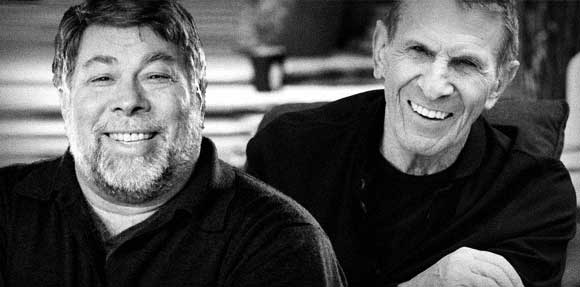 Wozniak and Nimoy
