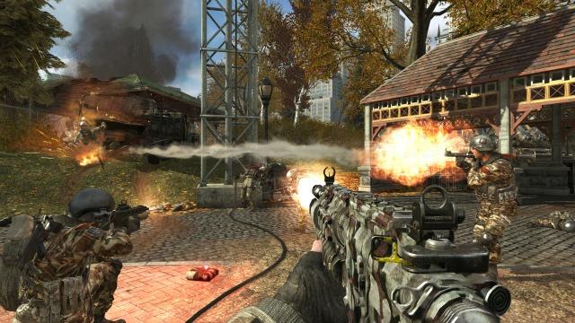 Call of Duty: Modern Warfare 3 Liberation Map