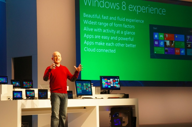 Windows 8 preview event