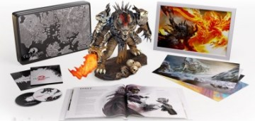 Bonus items of the Guild Wars 2 Collector's Edition.