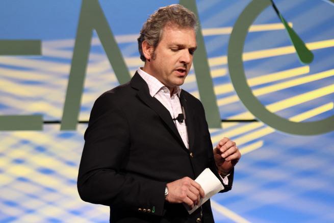 SchedIt founder Omar Tellez at DEMO Spring 2012