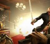 The original Dishonored had sword and gunplay.