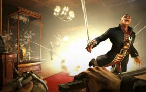 The original Dishonored had sword and gunplay.