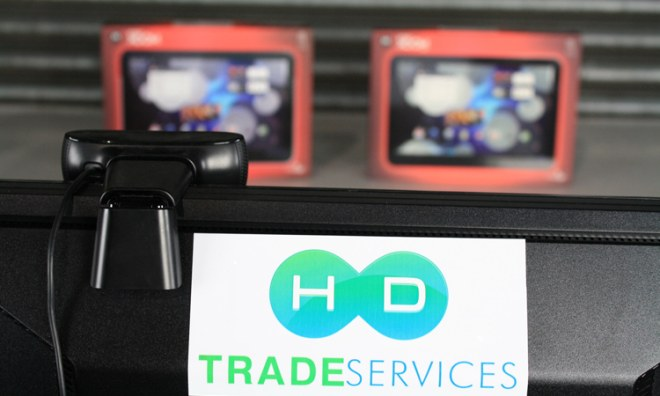 HD Trade Services camera doing an HD real-time inspection