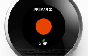 Nest thermostat energy history