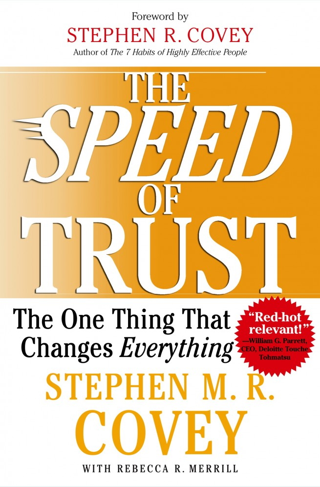 Speed of Trust Book