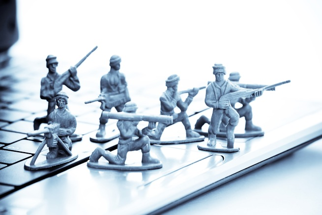 Toy soldiers, security