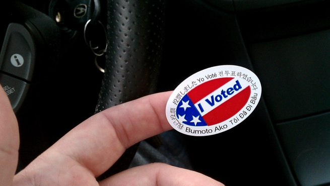 voted sticker