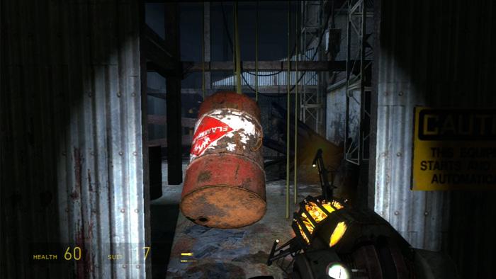 Exploding Barrel