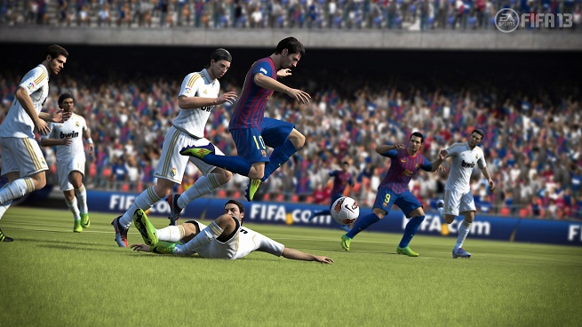 FIFA 13 - Lionel Messi's fancy moves