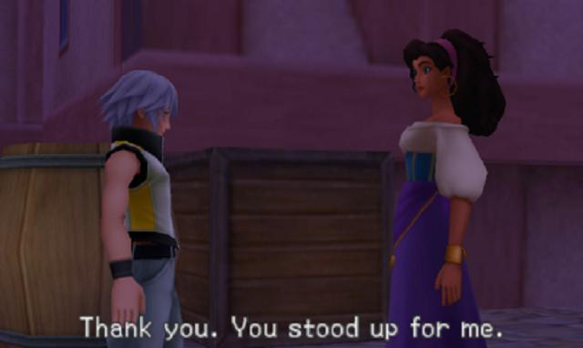 Kingdom Hearts 3D - Riku and Esmeralda