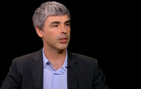 Google CEO Larry Page speaking on the Charlie Rose show, May 21, 2012