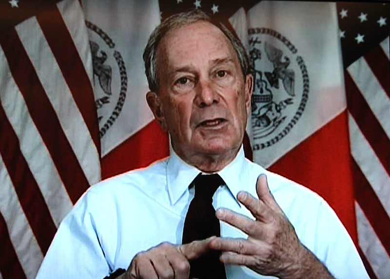 New York mayor and Bloomberg founder Michael Bloomberg