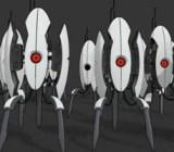 Portal Turrets