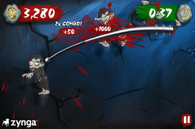 Zombie Swipeout