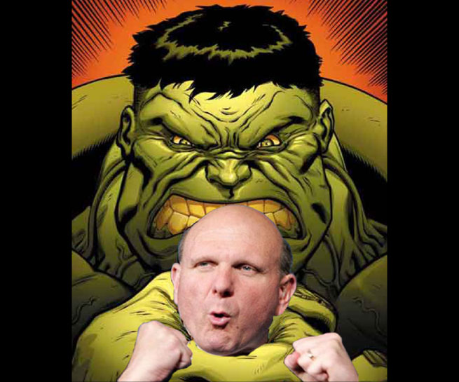 Hulk, Steve Balmer