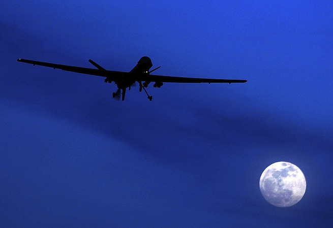 US drone GPS spoofing