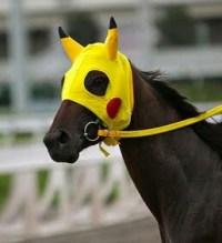 A Pikachu horse, I guess.