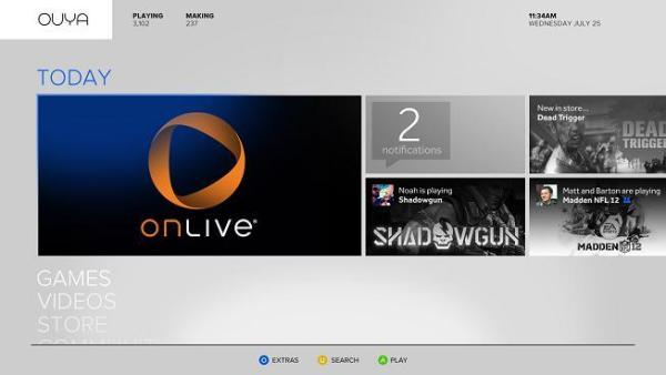 Ouya OnLive