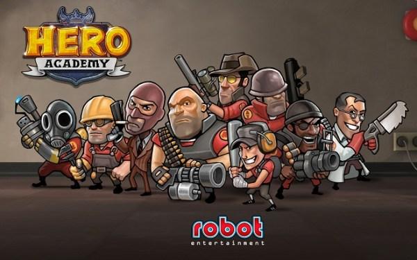 Team Fortress 2 hero academy