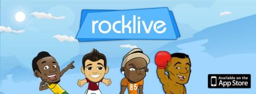 RockLive banner