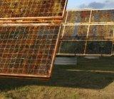 rust solar panels