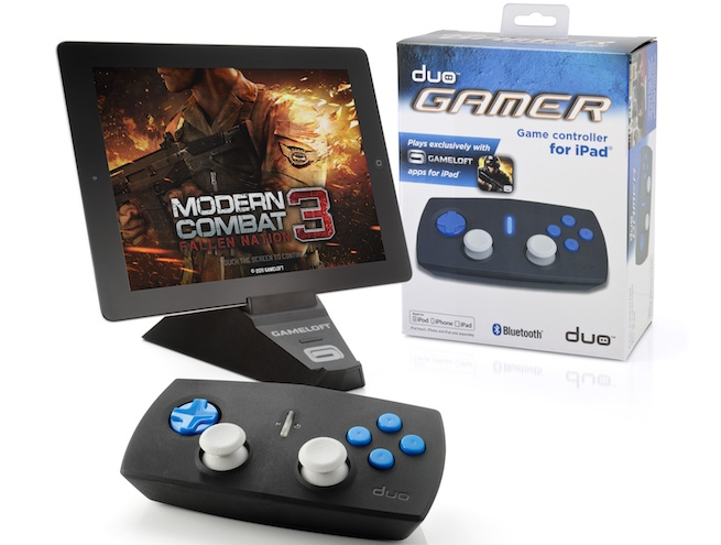 Gameloft's Duo Gamer bluetooth controller
