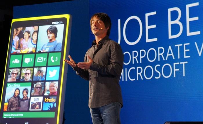 Windows Phone head Joe Belfiore.