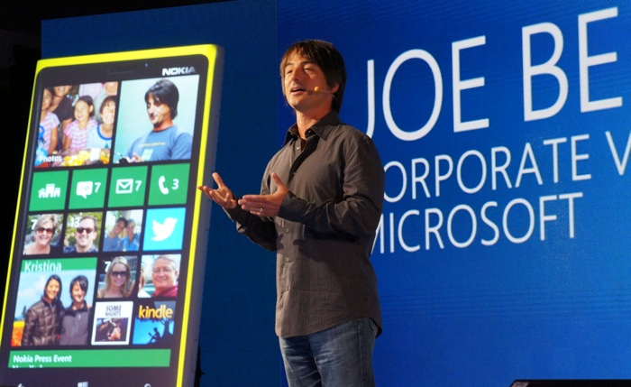 Windows Phone head Joe Belfiore.