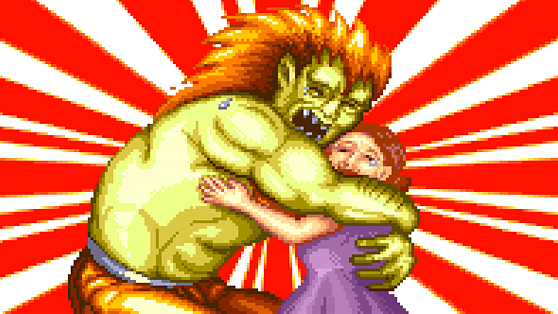 Blanka and mommy