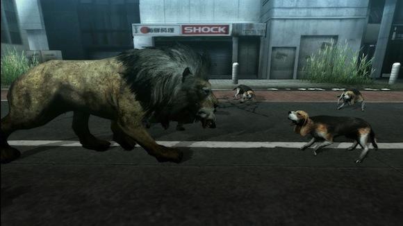 Tokyo Jungle scar encounter