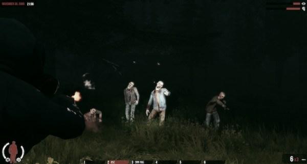 The War Z night zombies