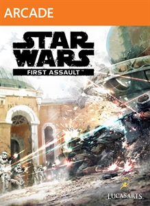 Star Wars: First Assault Xbox Live Arcade box-art