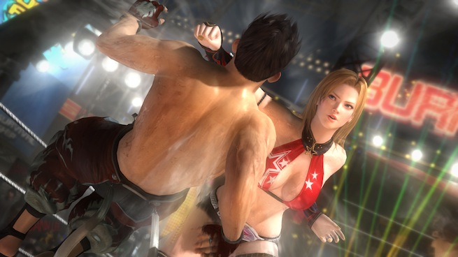 DOA5: TIna vs. Jan